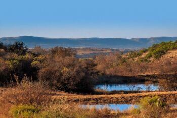 The Magaliesberg range just north of Johannesburg, Gauteng